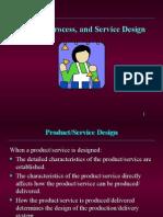 Product, Process & Service Design