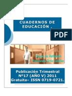 Cuadernos de Educación 2011 JUN-AGO (año V) nº17