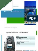 Electronic Bank Statement