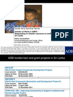 Gender at Work in SARD – Responding to Gender concerns in conflict-affected areas in Sri Lanka