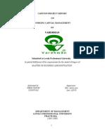 Working Capital Management Vardhman