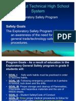 CTHSS Exploratory Safety Power Point -Rev3