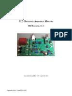 SIDreceiver Assembly Manual v1.0
