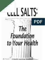 Mineral Salts Book
