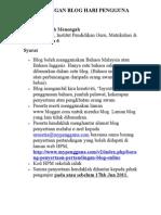 an Blog Pengguna