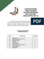 CONVOCATORIA 2011-II (1)