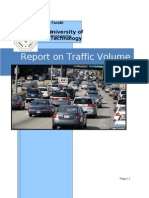 Report on Traffic Volume Study