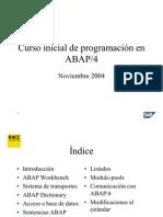 curso básico abap4