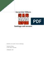Gerard de Villiers - Teroare La Santiago
