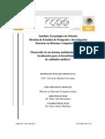 Sistema Multimodal Basado en Localización de Entidades Médicas.