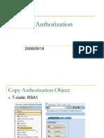 SAP BI Authorization