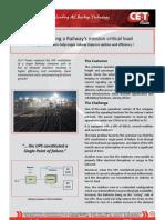 CET Power - Business Case - Railway Inverters