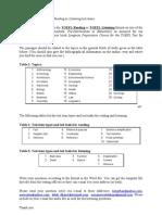 Set 3 - Defining Cubism - ToEFL Question Template