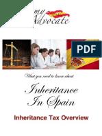 Inheritance Tax Spain Overview