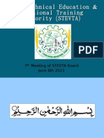 7th Board Meeting STEVTA Hafeez