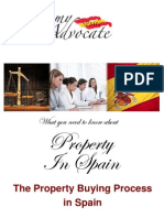 Buying Property in Spain - the Process