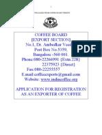 Exporter Registration Application