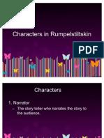 Characters in Rumpelstiltskin