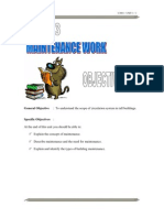 Maintenance Work (politeknik)