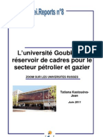 L'université Goubkine
