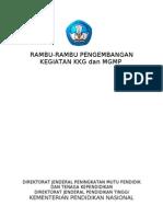 Rambu-Rambu KKG DAN MGMP Buku 1