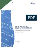 Lustre File System Demo Quick Start Guide