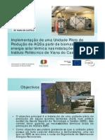 Apresentação - ImplementaçãoUnidadePilotoAQS_DuarteAlves_26Maio2011 [Compatibility Mode]