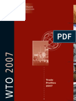 WTO - Trade Profiles of World 2007