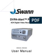 SW242-DAL DVR4 Alert Plus Manual ENG