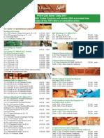 TBrewer Price List June July 2011