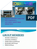 Stock Exchange Term Ppt
