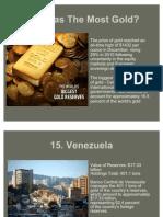 Gold Reserve World Ranks Presentation 1
