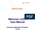 Memo Rex Lock User Manual v224-C