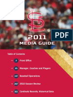2011 Saint Louis Cardinals Media Guide