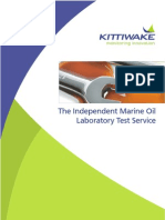 Kittiwake Oil Laboratory Analysis