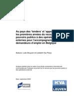 Accompagnement et privé en Belgique