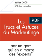 Trucs et astuces du Marketing