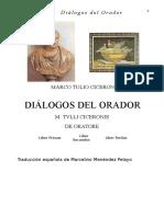 Dialogos del orador (español+latin) - CICERO
