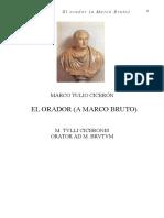 El orador - A marco bruto (español+latin) - CICERO