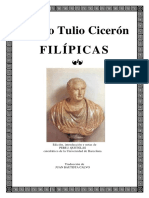 Filipicas (español+latin) - CICERO