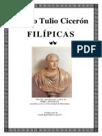 Filipicas (español+latin) - CICERO