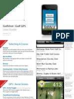 Golf Shot GPS Userguide