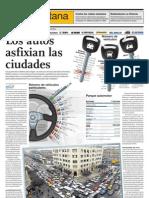 Los Autos Asfixian a Las Ciudades