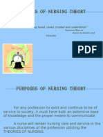 Purposes of Nursing Theory