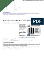 Como criar um Pendrive Bootável do Windows XP