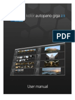 Autopano Giga 2.5 User Manual