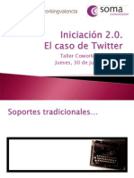 Taller Twitter Coworking 30-06-2011
