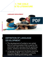 Language Development in Literature