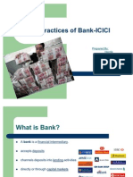 HR Practices of Bank-ICICI