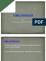 Organisasi Oleh Alam Joe Armstrong 2